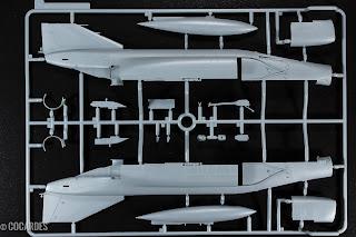 F-4J Phantom II Zoukei Mura Pièces - Parts 1/9