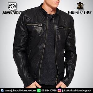 Jual Jaket Kulit Asli Garut Pria Domba Original Brida Leather B94 | WA 08813430588