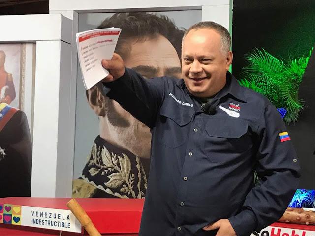 Estados Unidos sancionó por fin a Diosdado Cabello