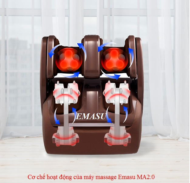 Máy massage chân Emasu MA2.0