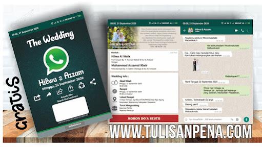 Template Undangan WhatsApp