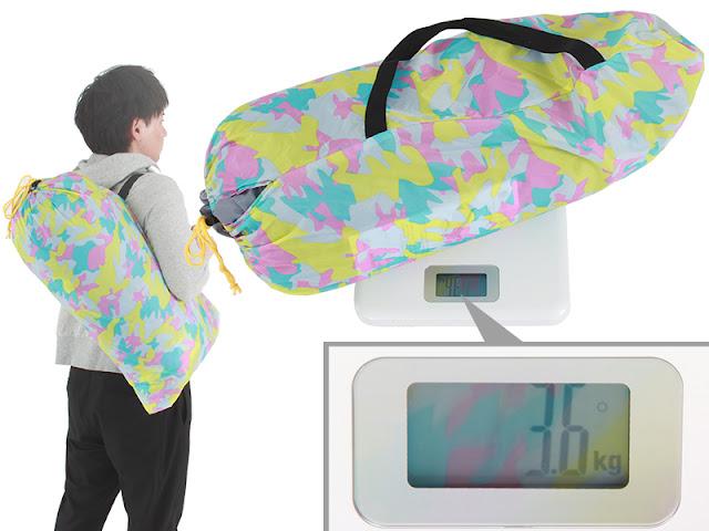 crazy tent weight
