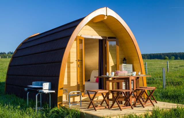 Casa prefabbricata in legno Family Pod