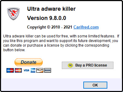 Ultra Adware Killer 9.8.0.0