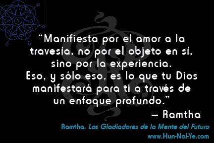 Ramtha, compartiendo sus textos - Juana Aliberti Martinez: Los