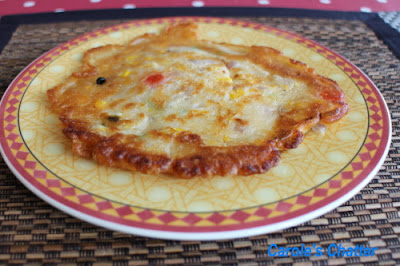 Carole's Chatter: Savoury Pancakes
