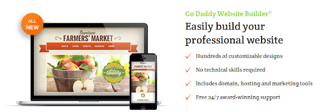 Godaddy website builder coupon code discount save up to for Godaddy ecommerce templates
