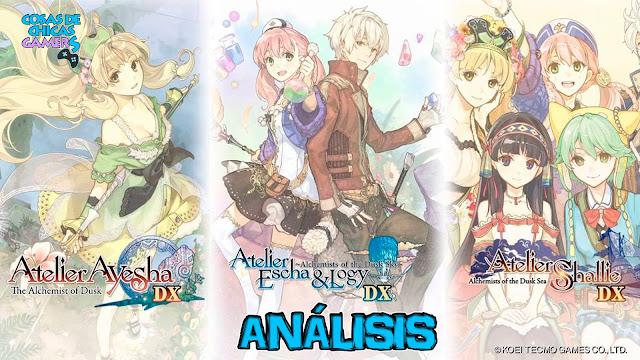Análisis Ayhesa Escha & Logy Shallie Sky Sea Dusk Atelier Trilogy Deluxe Pack en PS4
