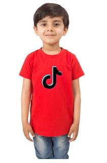 TIKTOK Kids T-Shirt (Boys/Girls) Colored