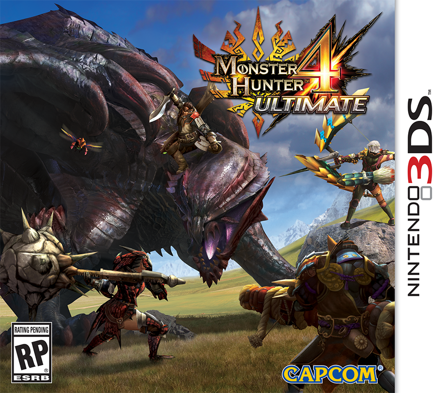 Monster Hunter 4 Ultimate (3DS) | Tercyduk