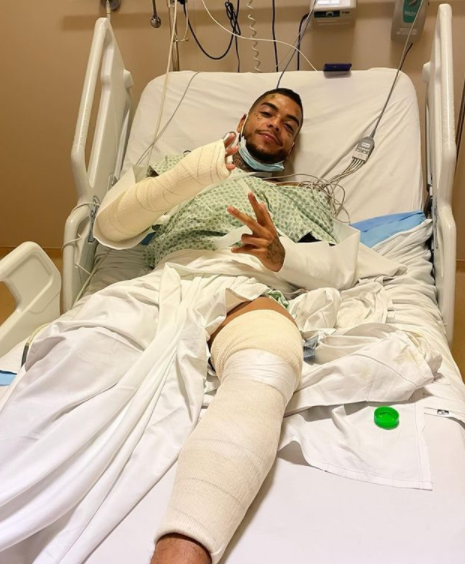 MC Kevin suffers automotive accident And He is hospitalized