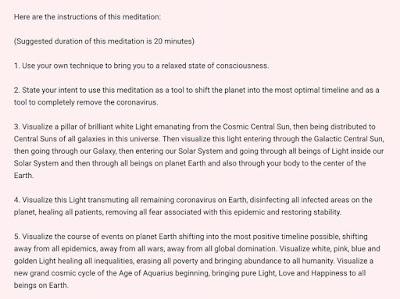Интервью Сестричества Розы с Кобра и Короткое Обновление для Медитации Instructions