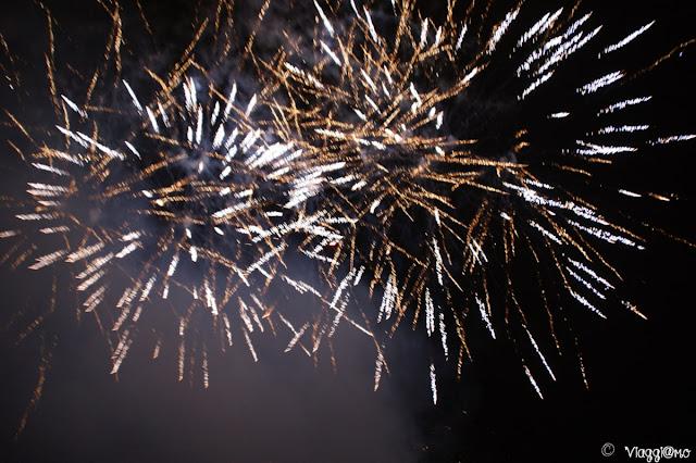 Fuochi d'artificio di capodanno in Camargue