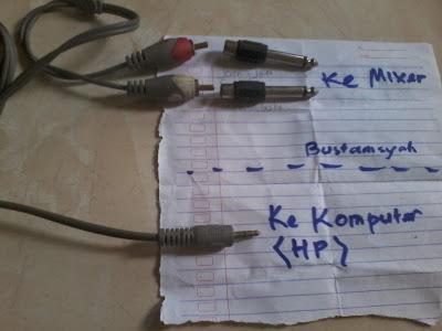 Cara Menghubungkan HP atau Laptop ke Audio Mixer dengan Jack Kombinasi