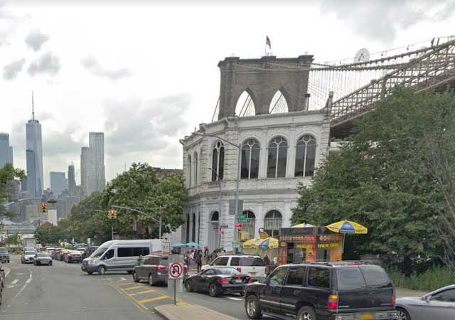Front Street at Brooklyn Bridge, NYC, randommusings.filminspector.com