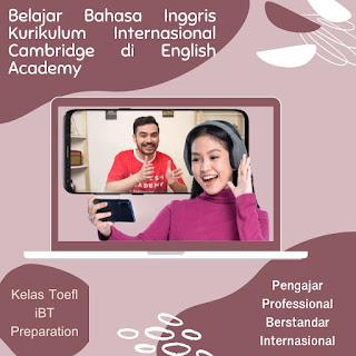 kursus online english academy by ruangguru