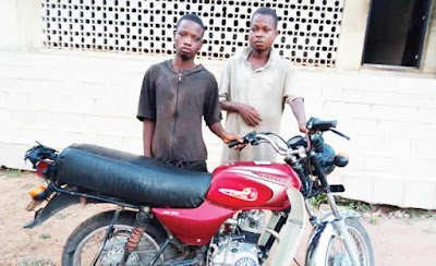 Photos: Bike-Snatching syndicate smashed in Ogun