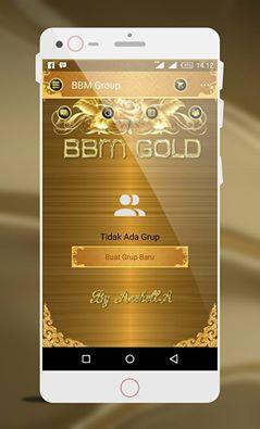 BBM MOD GOLD versi terbaru 2.13.1.14
