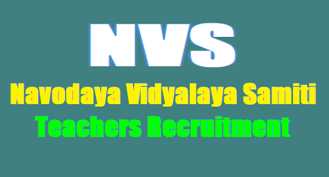 NVS(Navodaya Vidyalaya Samiti) PGTs, TGTs,Teachers, FCSAs Recruitment vacancies 2017,NVS Teachers Recruitment Selection list,Results