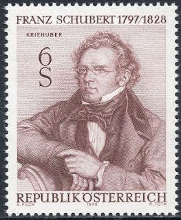 Austria 1978 Franz Schubert  Composer Music
