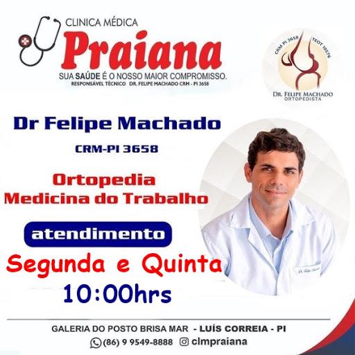 Dr. Felipe Machado em Luis Correia