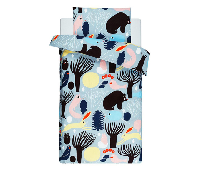 Aino-Maija Metsola huhuli textile - for Marimekko bedding set for kids