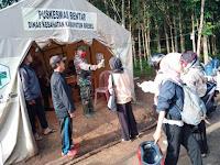 Sweeping Warga Pulang Merantau Terus Dilakukan di Pegunungan Salem Brebes