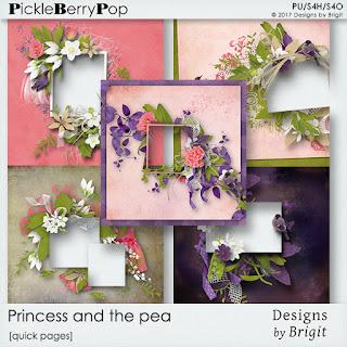 Princess and the pea Pickle Barrel + FREEBIE