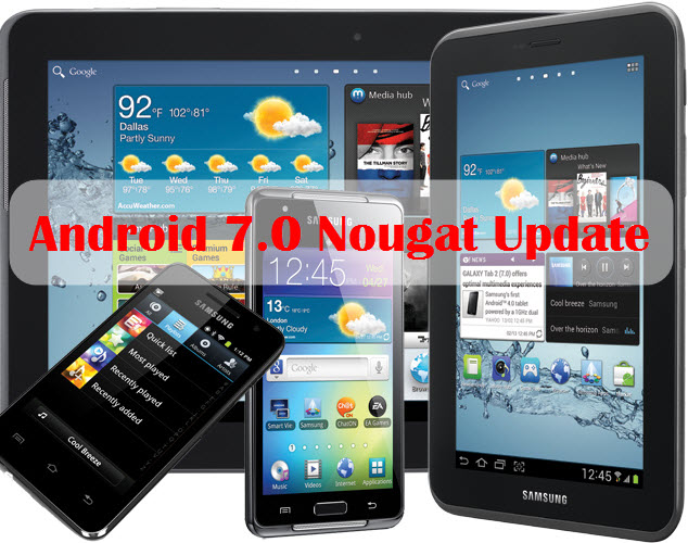 samsung nougat update list android nougat 70 update autos post. Black Bedroom Furniture Sets. Home Design Ideas