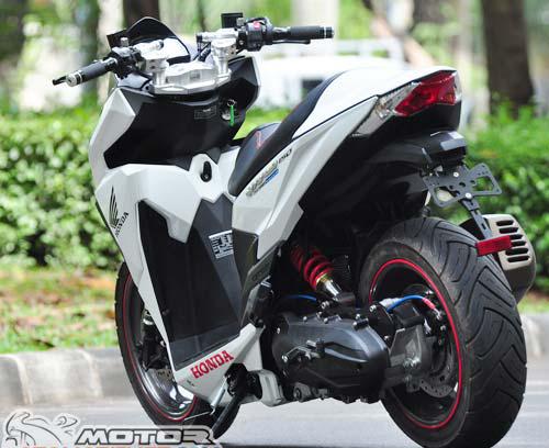 Honda Vario mạnh mẽ hơn khi sử dụng động cơ 150 phân khối