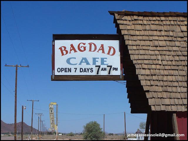 """Le motel du film """" Bagdad café """""""