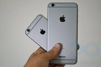 اريد شراء الايفون 6 اي واحد اختار الكبير او الصغير