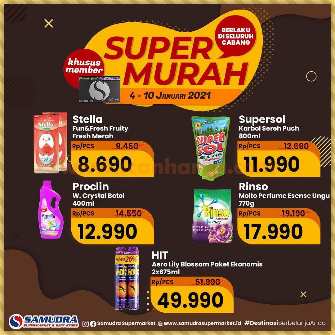 Katalog Samudra Supermarket Promo Super Murah 4 - 10 Januari 2021