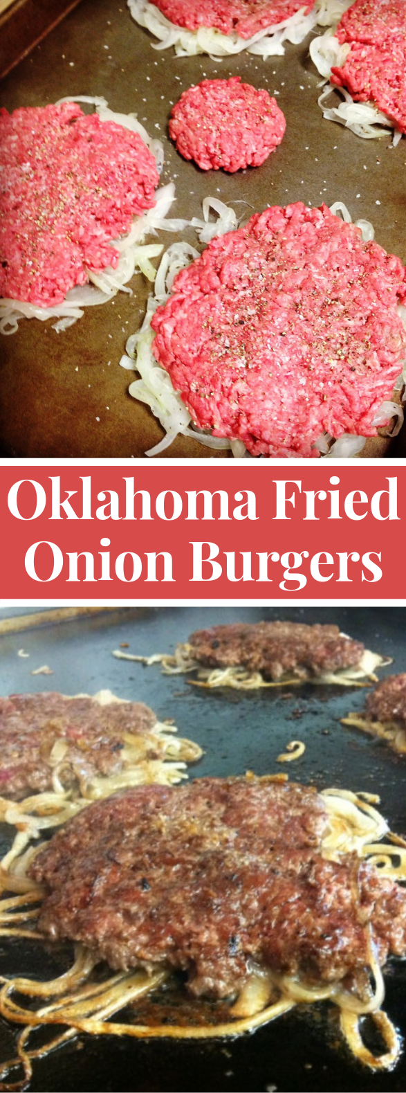 Oklahoma Fried Onion Burgers #dinner #easyrecipe