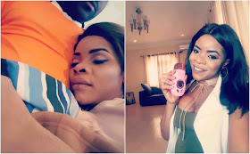 Laura Ikeji debunks reports that she still lives with her sister Linda even after marriage, shows off her home