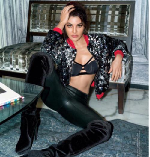 Jacqueline Fernandez Stunning Poses for Femina Magazine September 2017