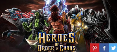 Download Heroes of Order & Chaos APK MOD Unlimited Coins