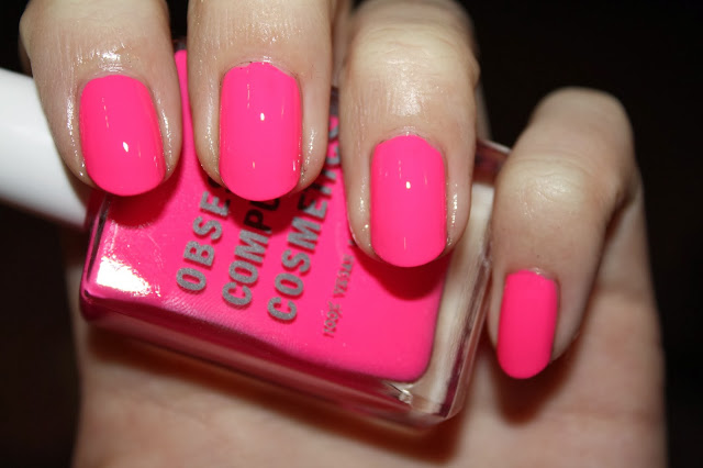 OCC Obsessive Compulsive Cosmetics Nail Laquer in Anime Swatch