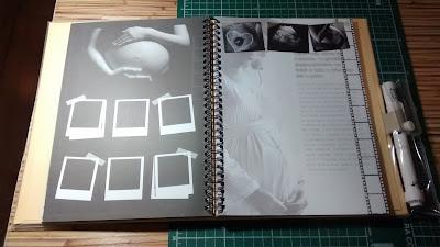Diário da Gravidez - Ateliê Memórias e Retalhos