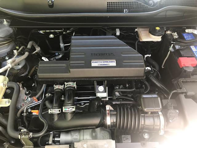 Engine in 2020 Honda CR-V