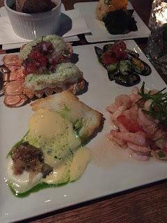 Seafood platter at ROK