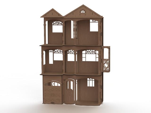 конструктор из фанеры чертежи,кукольный домик для барби кукольная кровать, кукольная кухня, кукольная мебель, кукольные стулья, кукольный стол, макеты для лазерной резки, мебель, мебель для кукол, своими руками