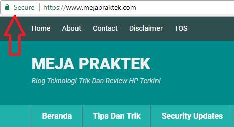 Dengan Dukungan HTTPS, Sekarang Lebih Aman Mengakses Blog Mejapraktek.com. Berikut Ulasan Selengkapnya Tentang HTTPS