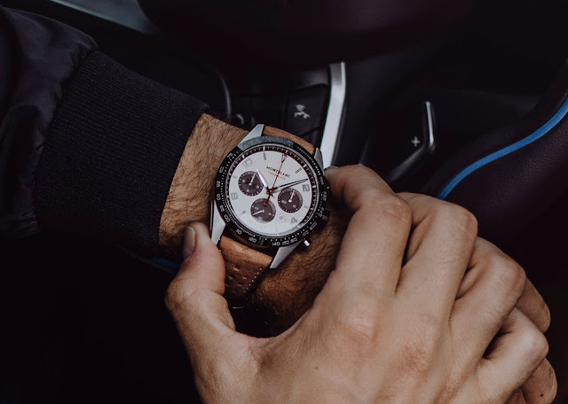 The Montblanc TimeWalker Manufacture Chronograph Limited Edition (ref. 118491) on the wrist