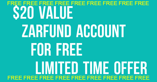 ZarFund Offer - Sign Up for FREE