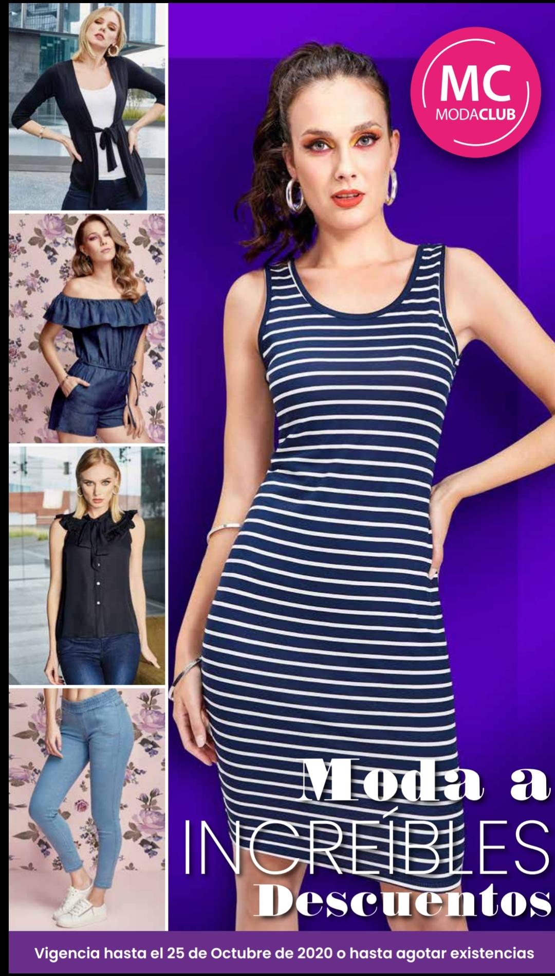 ModaClub catalogo ofertas vestidos