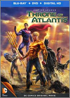 Liga da Justiça: Trono de Atlântida - Dublado