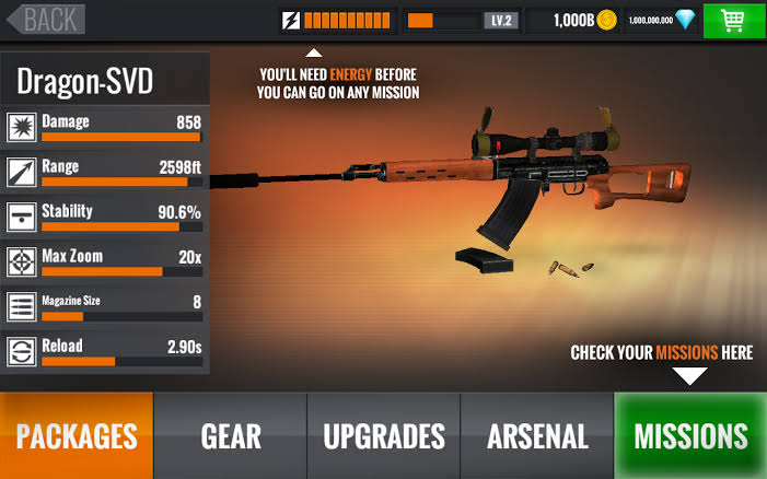 download sniper 3d gun shooter hack mod apk