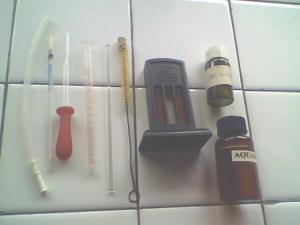 alat dan bahan tes hemoglobincara sahli