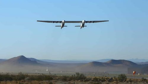 Stratolaunch has completed the second flight of the world's largest aircraft